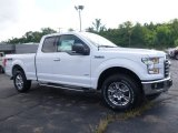 2016 Oxford White Ford F150 Lariat SuperCab 4x4 #115164506