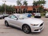 2016 Ingot Silver Metallic Ford Mustang EcoBoost Premium Coupe #115164451