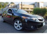2010 Crystal Black Pearl Acura TSX Sedan #115195079