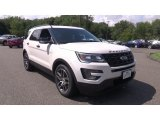 2017 White Platinum Ford Explorer Sport 4WD #115205611