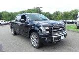 2016 Shadow Black Ford F150 Limited SuperCrew 4x4 #115205606