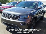 2017 Granite Crystal Metallic Jeep Grand Cherokee Limited 4x4 #115209114