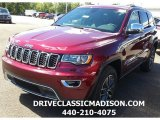 2017 Velvet Red Pearl Jeep Grand Cherokee Limited 4x4 #115209113