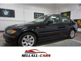 2002 Jet Black BMW 3 Series 325xi Sedan #115208879