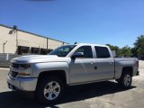 2017 Silver Ice Metallic Chevrolet Silverado 1500 LT Crew Cab 4x4 #115230432