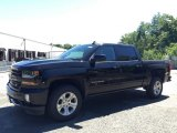 2017 Black Chevrolet Silverado 1500 LT Crew Cab 4x4 #115230431