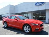 2017 Race Red Ford Mustang V6 Coupe #115230548