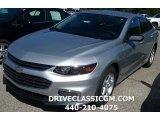 2016 Silver Ice Metallic Chevrolet Malibu LS #115230628