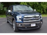 2016 Blue Jeans Ford F150 Lariat SuperCrew 4x4 #115230616