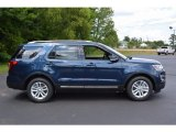 Blue Jeans Ford Explorer in 2017