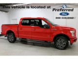 2016 Race Red Ford F150 XLT SuperCrew 4x4 #115250820