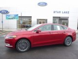 2017 Ruby Red Ford Fusion SE #115251160