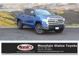 2016 Blazing Blue Pearl Toyota Tundra SR5 CrewMax 4x4 #115272932