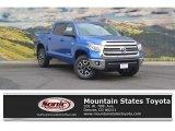 2016 Blazing Blue Pearl Toyota Tundra SR5 CrewMax 4x4 #115272931