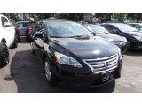 2014 Super Black Nissan Sentra S #115273301