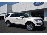 2017 White Platinum Ford Explorer Limited #115273054
