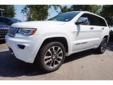 2017 Bright White Jeep Grand Cherokee Overland #115273035