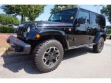 2016 Black Jeep Wrangler Unlimited Rubicon Hard Rock 4x4 #115273021