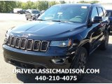 2017 Diamond Black Crystal Pearl Jeep Grand Cherokee Limited 75th Annivesary Edition 4x4 #115302818