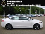 2017 White Platinum Ford Fusion Sport AWD #115302631