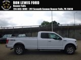 2016 Oxford White Ford F150 XLT SuperCab 4x4 #115302630