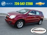 2010 Cardinal Red Metallic Chevrolet Equinox LS #115302794