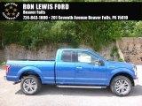 2016 Blue Flame Ford F150 XLT SuperCab 4x4 #115302627