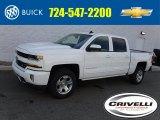 2017 Summit White Chevrolet Silverado 1500 LT Crew Cab 4x4 #115302791