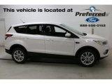 2017 White Platinum Ford Escape SE #115302459