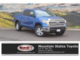 2016 Blazing Blue Pearl Toyota Tundra SR5 CrewMax 4x4 #115302555