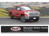 2016 Barcelona Red Metallic Toyota Tundra Limited Double Cab 4x4 #115302554