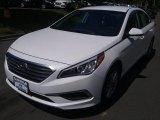 2017 Quartz White Pearl Hyundai Sonata SE #115330329