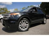 2014 Tuxedo Black Ford Explorer XLT 4WD #115330284
