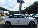 2013 White Platinum Metallic Tri-coat Ford Fusion Titanium #115350306