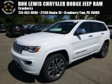 2017 Bright White Jeep Grand Cherokee Overland 4x4 #115370625