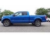 2016 Blue Flame Ford F150 XLT SuperCab 4x4 #115370749