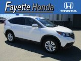 2013 White Diamond Pearl Honda CR-V EX AWD #115370949