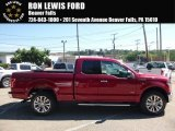 2016 Ruby Red Ford F150 XLT SuperCab 4x4 #115370585