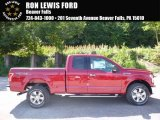 2016 Ruby Red Ford F150 XLT SuperCab 4x4 #115370584