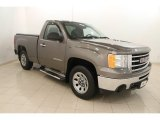 2013 Mocha Steel Metallic GMC Sierra 1500 Regular Cab #115400598