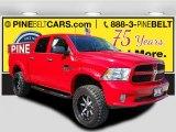 2014 Flame Red Ram 1500 Express Crew Cab 4x4 #115400424