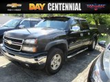 2006 Black Chevrolet Silverado 1500 LT Crew Cab 4x4 #115421270