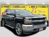 2016 Black Chevrolet Silverado 1500 LT Crew Cab 4x4 #115421172