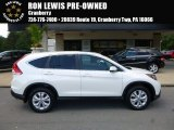 2014 White Diamond Pearl Honda CR-V EX AWD #115421297