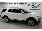 2017 White Platinum Ford Explorer Limited 4WD #115421077