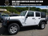 2016 Bright White Jeep Wrangler Unlimited Sport 4x4 #115421478