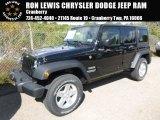 2016 Black Jeep Wrangler Unlimited Sport 4x4 #115421282
