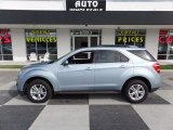 2014 Atlantis Blue Metallic Chevrolet Equinox LT #115421470