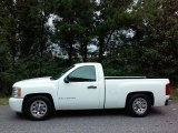 2009 Summit White Chevrolet Silverado 1500 LS Regular Cab #115449732
