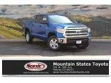 2016 Blazing Blue Pearl Toyota Tundra SR5 CrewMax 4x4 #115449773